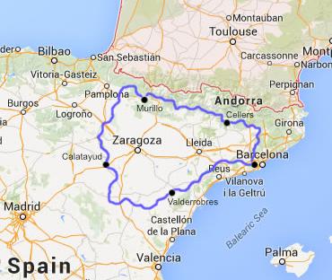 Motorcycle Tour In Spain Sierra Y Desierto